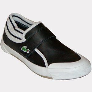 Lacoste Ohsaki Slip On Sneakers Black and White